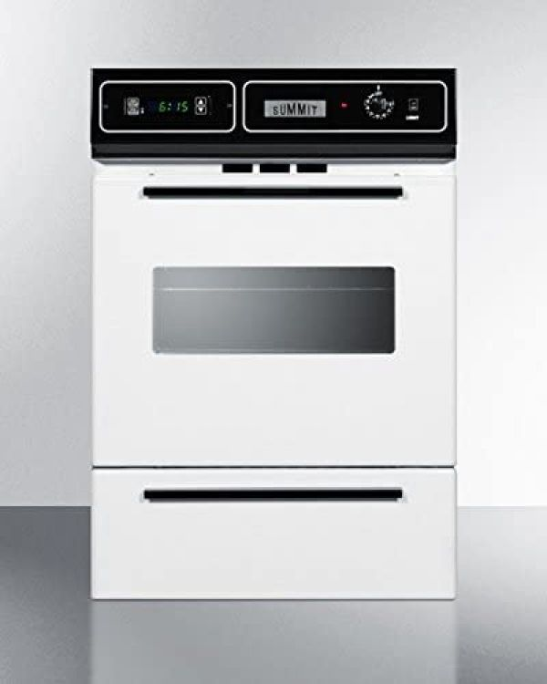 Summit WTM7212KW Kitchen Cooking Range, White