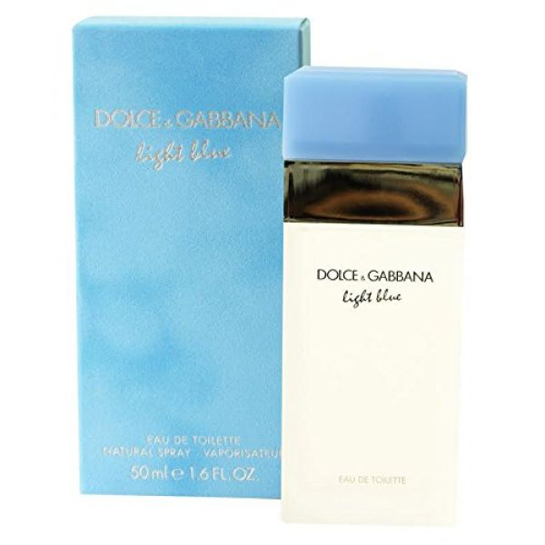 Dolce & Gabbana Light Blue For Women. Eau De Toilette Spray, 1.6 Ounces