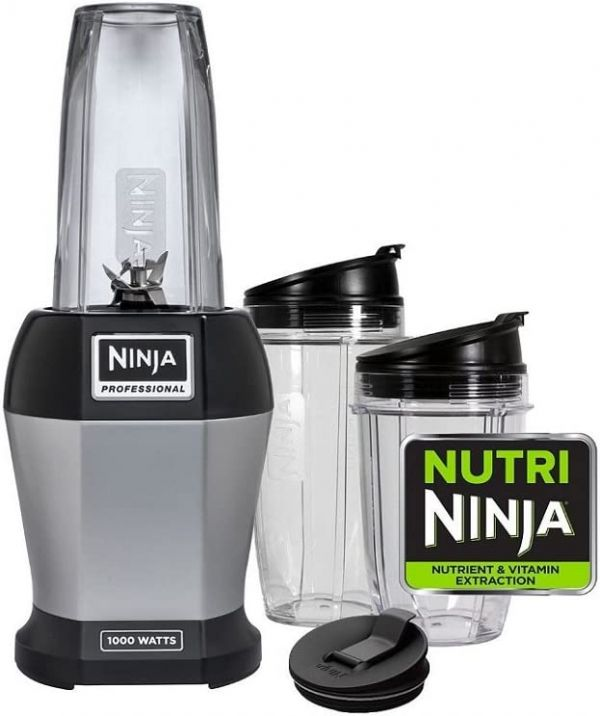 Ninja Nutri, Stainless Steel/Black