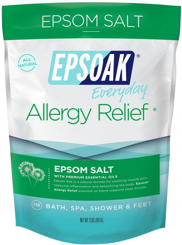 Epsoak Epsom Salt - 2 lbs. Allergy Relief Bath Salts
