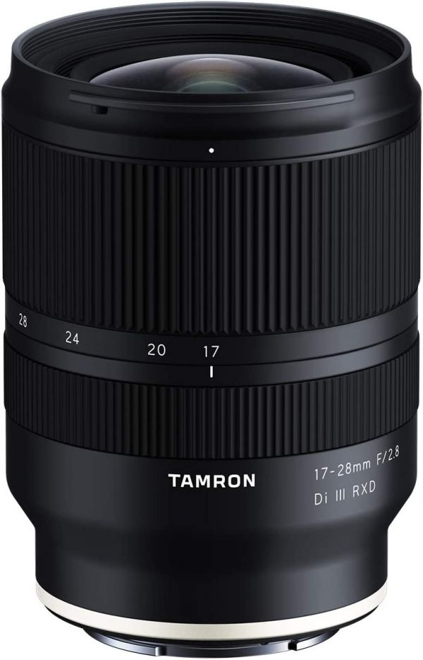 Tamron 17-28mm f/2.8 Di III RXD for Sony Mirrorless Full Frame/APS-C E Mount (Tamron 6 Year Limited USA Warranty)