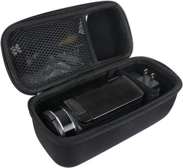 Hermitshell Hard Travel Case for Video Camera Camcorder Kicteck/SOSUN/Actinow/GordVE/AiTechny/FLOUREON/Baize/FamBrow/Lyyes/kimire/Canon VIXIA HF R800 / R700