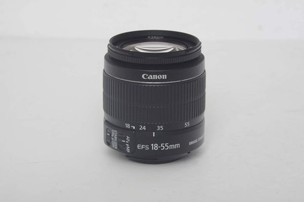 Canon EF-S 18-55mm f/3.5-5.6 is II SLR Lens for EOS Rebel XS, XSi, XT, XTi, T1i, T2i, T3, T3i, T4i, T5, T5i, 10D, 20D, 30D, 40D, 50D, 60D, 70D, 7D