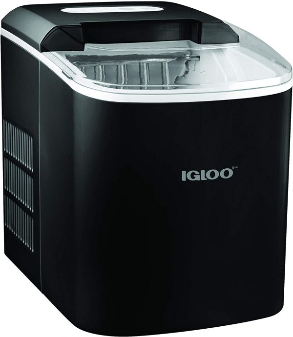 Igloo ICEB26BK Portable Electric Countertop 26-Pound Automatic Ice Maker, Black