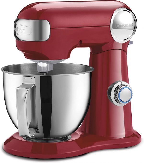 Cuisinart SM-35R Precision Master 3.5 Quart (Ruby Red) stand mixer