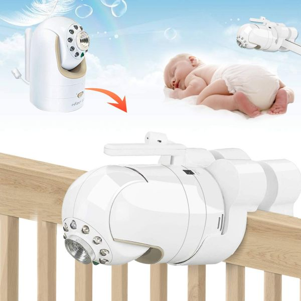 ZSPENG Infact Optics DXR-8 Mount, Portable Baby Monitor Mount, No Need Assemble(Infant Optics DXR-8 Not Included)