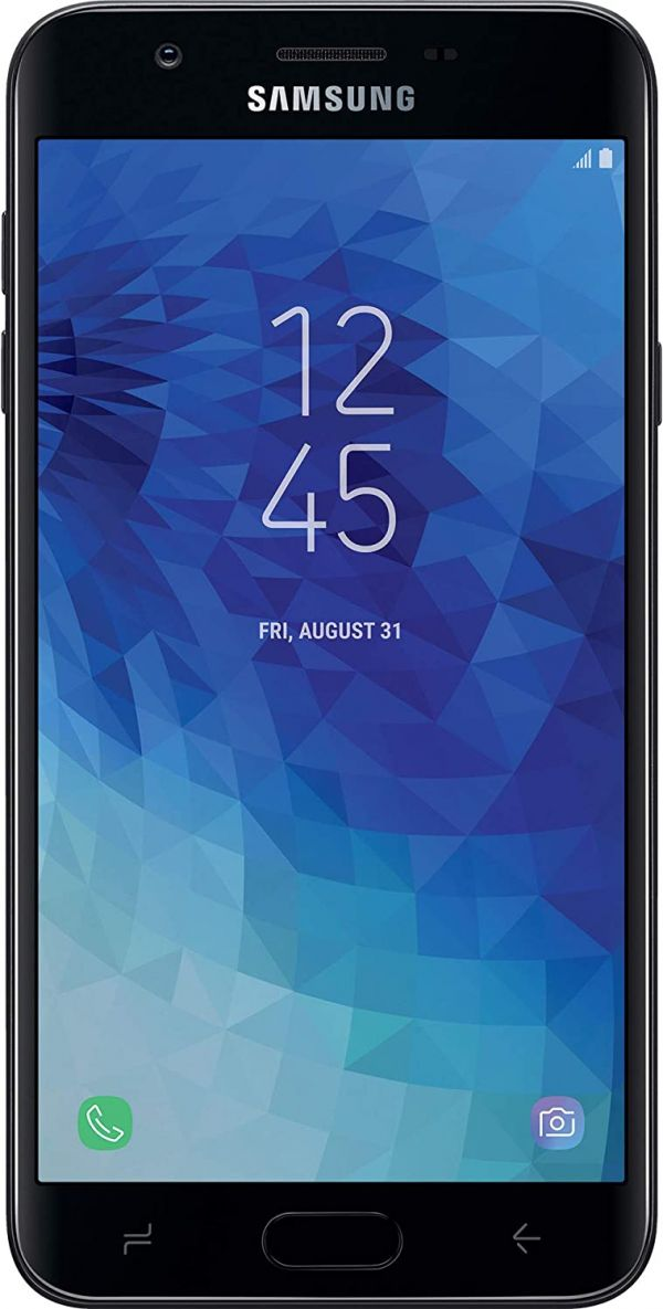 TracFone Samsung Galaxy J7 Crown 4G LTE Prepaid Smartphone with Amazon Exclusive $40 Airtime Bundle