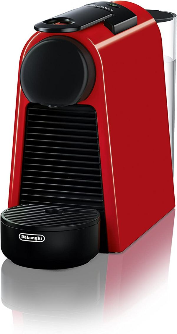Nespresso by DeLonghi EN85R Essenza Mini Original Espresso Machine by DeLonghi, Red