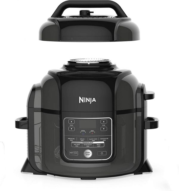 NINJA OP300 Pressure Cooker with Crisper (Renewed)